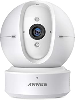 ANNKE 1080p HD Pan and Tilt Wi-Fi Wireless Security IP Camera