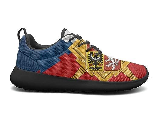 57bd46581f1db Amazon.com: Hken Czech republic flag Unisex Running Shoes Men ...