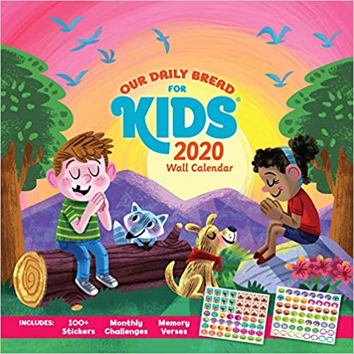 Our Daily Bread For Kids Wall Calendar 2020 por Luke Flowers epub