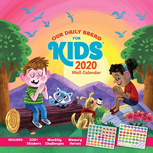 Our Daily Bread for Kids Wall Calendar 2020 by