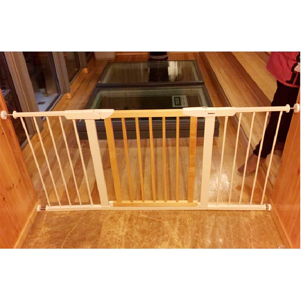 Fairy Baby Multi Use Wood & Metal Walk Thru Gate,White,Fit Spaces between 29.53''-32.28'' by Fairy Baby (Image #5)