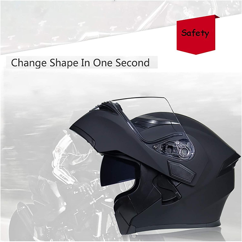 hammock Klapphelm Integralhelm Helm Motorradhelm Modularer Helmet Anti-Fog Doppelvisier Kopfschutz Schutzhelm f/ür Mofa Chopper Cruiser Pilot,ECE Zertifiziert