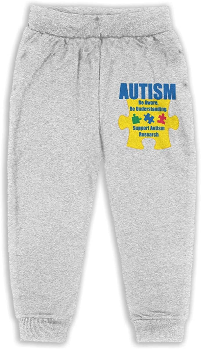 Soft Cozy Boys /& Girls Jogger Play Pant Udyi/&Jln-97 Puzzle Piece Shaped Autism Awareness Car Unisex Baby Pants