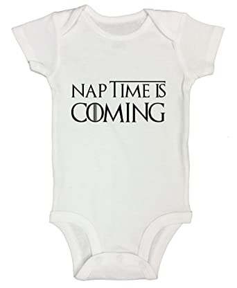 Funny Kids Game Of Thrones Onesie Naptime Is Coming Newborn Shirt