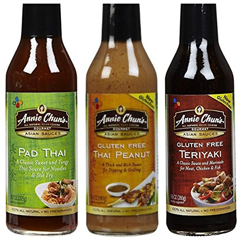 Annie Peanut (Annie Chun's Gourmet Asian Sauces Variety Pack 9 oz (Pack of 3))