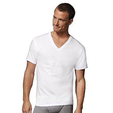 dcb757892e79 Mens Hanes White V Neck T 5 Pack, XXL-White at Amazon Men's Clothing ...