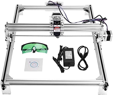 30x40cm DIY CNC 2500MW USB Upgraded 2 Axis Desktop Printer Used As Carving Engraving Cutting Machine for Leather Wood Plastic Uttiny Laser Engraver Kits