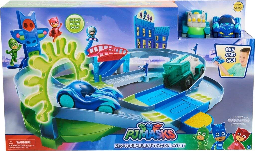 Amazon.com: PJ máscaras Track Playset: Toys & Games