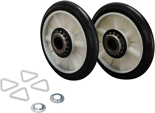 3397590 337089 3389901 Replaces AP3098345 3397588 349241T Drum Roller Exact fit for Whirlpool KENMORE SEARS clothes dryers: 340352