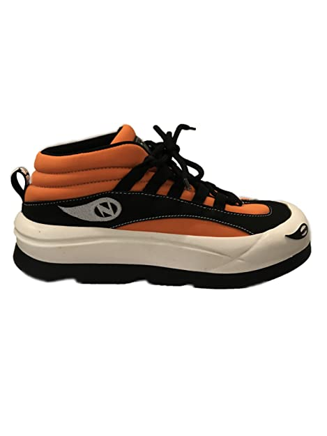 buy online a3364 501d4 Nose PEN1124-050B Vintage Sneakers Orange/Black (8UK, Orange ...