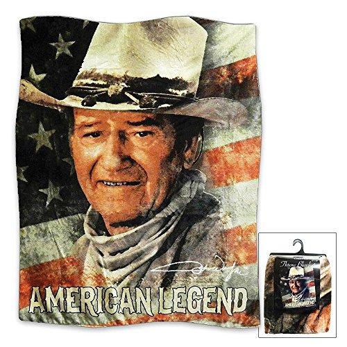 Midsouth Productions John Wayne American Legend Throw