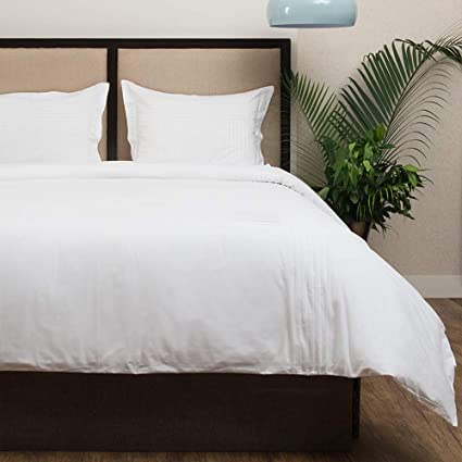 b2995a3df0 Amazon.com: Hotel Collection Chester Percale Duvet Cover Set Of 3 ,King  Size, Off-White By Cambay Linens: Home & Kitchen