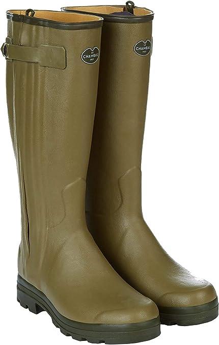 bottes le chameau homme doublées cuir