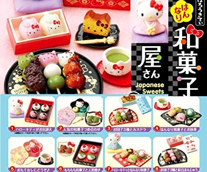 Re-Ment Miniature Sanrio San X Rilakkuma Japanese Life # 4 Japanese Sweets