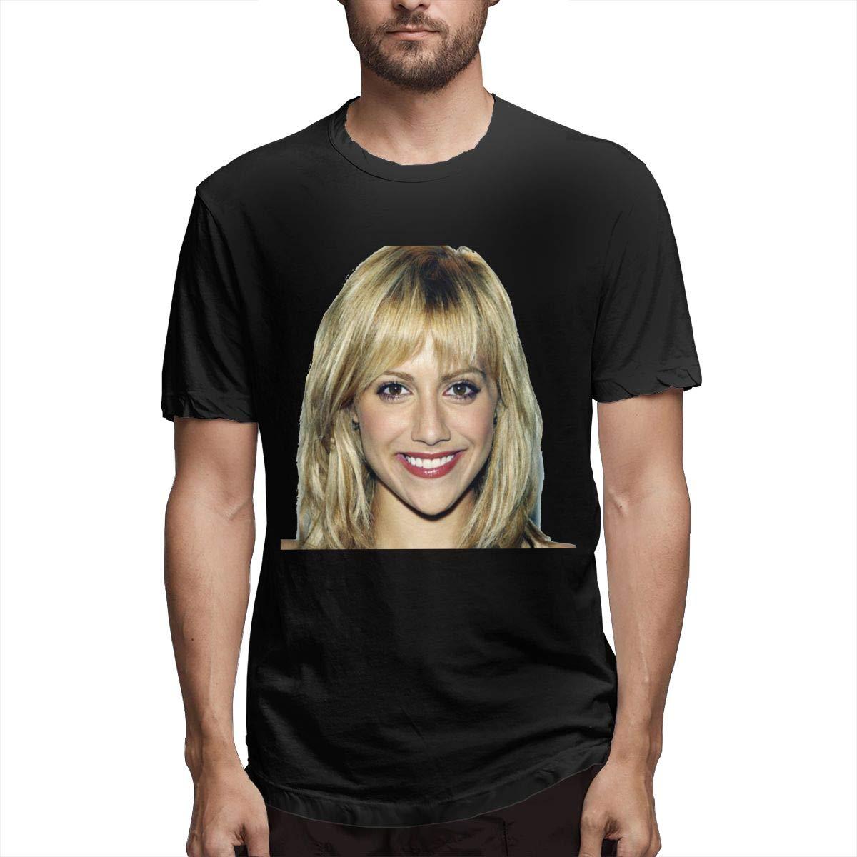 S Brittanymurphylogos Short Sleeve Classic Comfort Soft Crewneck Tshirt