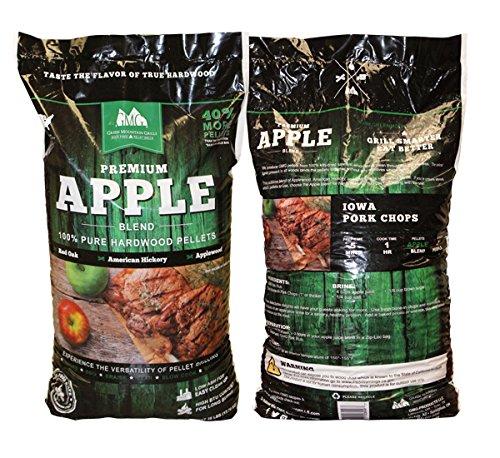Mountain Apple (Green Mountain Grills Premium Apple Grilling Pellets)