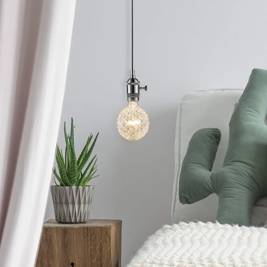 Globe Electric Company 84637 Crystal Designer Bulb