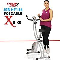 Cardio Max JSB HF146 Foldable X Bike Cycle for Weight Loss at Home