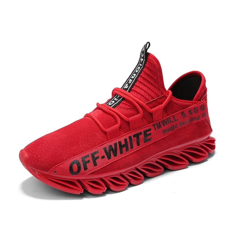 OPQZ Running Schuhes ROT Turnschuhe Men& 039;s Running Schuhes Autumn and Winter Men& 039;s Schuhes Men& 039;s Sports Schuhes