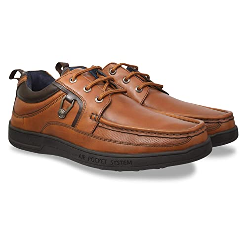 1b0bf0814e185 ID Men s Tan Formal Shoes  Buy Online at Low Prices in India - Amazon.in
