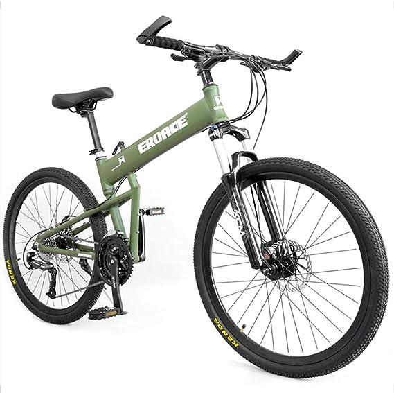 NENGGE Adulto Bicicleta Montaña, Profesional Portátil Plegable ...
