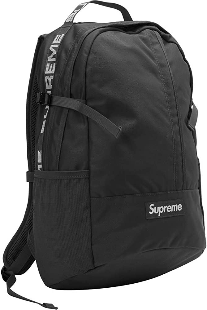 Mochila Suprema,Supreme Backpack 18ss (Negro): Amazon.es: Ropa y ...