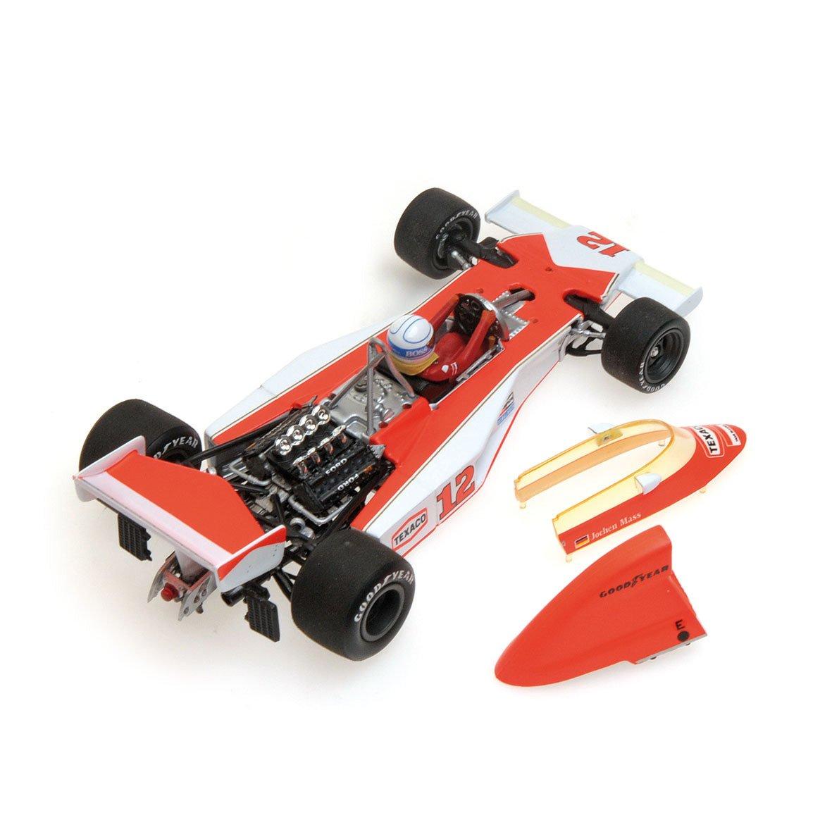 Vuelta de 10 dias Minichamps 530764332 – Vehículo Vehículo Vehículo en Miniatura – MC-Laren M23 – GP Sudáfrica 1976 – Escala 1/43, Color Blanco/Naranja  ¡no ser extrañado!