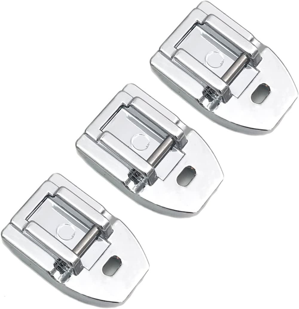 Kenmore Euro-Pro Concealed Invisible Zipper Foot Fits All Low Shank Snap-On Singer Babylock Janome Brother
