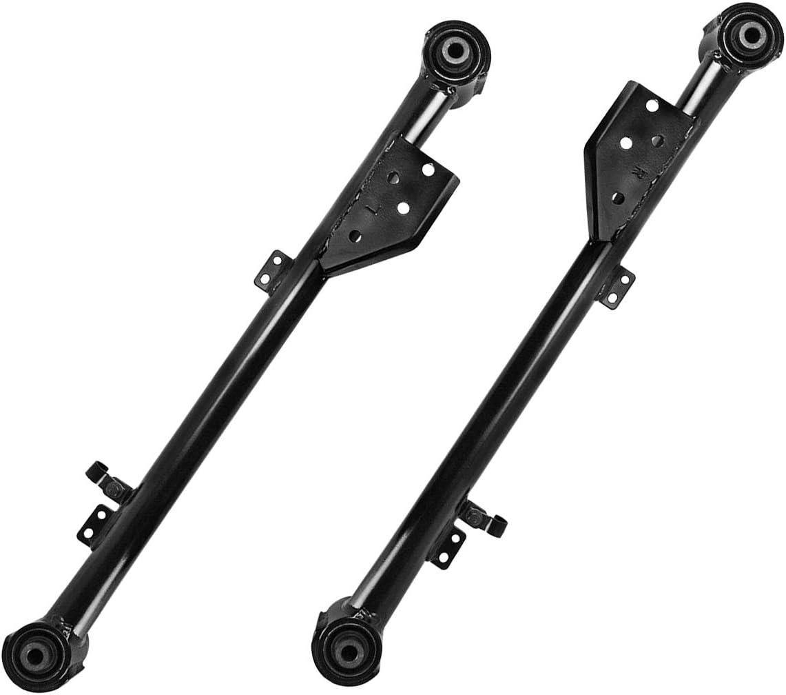 TUCAREST 2Pcs K660904 K660905 Left Right Rear Lower Control Arm Assembly Compatible With 1997-2003 Infiniti QX4 97-04 Nissan Pathfinder Driver Passenger Side Trailing Arm Suspension