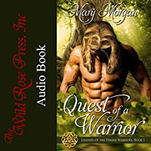 Quest of a Warrior: Legends of the Fenian Warriors, Book 1 Audiobook by Mary Morgan Narrated by Jamie Dione