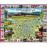White Mountain Puzzles Finger Lakes - 1000 Piece Jigsaw Puzzle