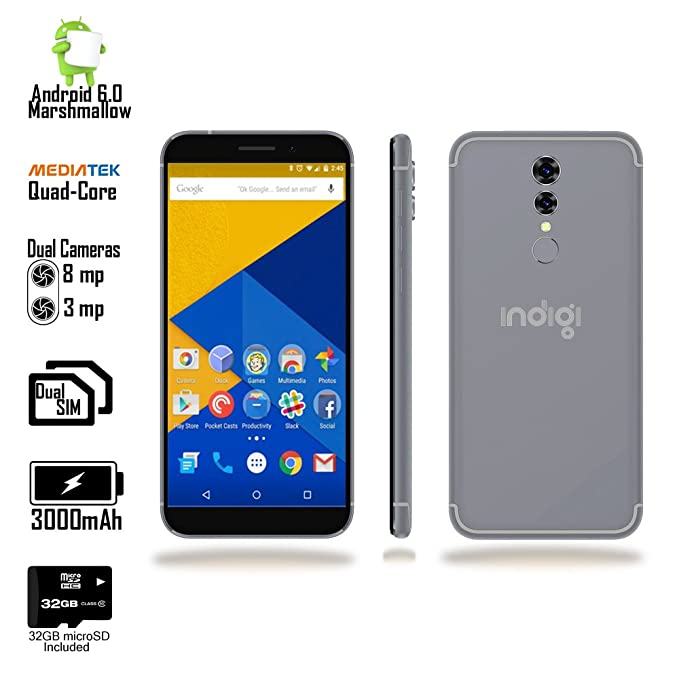 Indigi® Desbloqueado 4 G LTE de 5,6