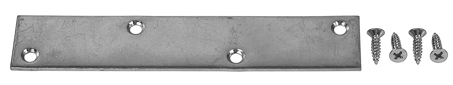 8 Count Bulldog 6 inch Zinc Plated Mending Plate