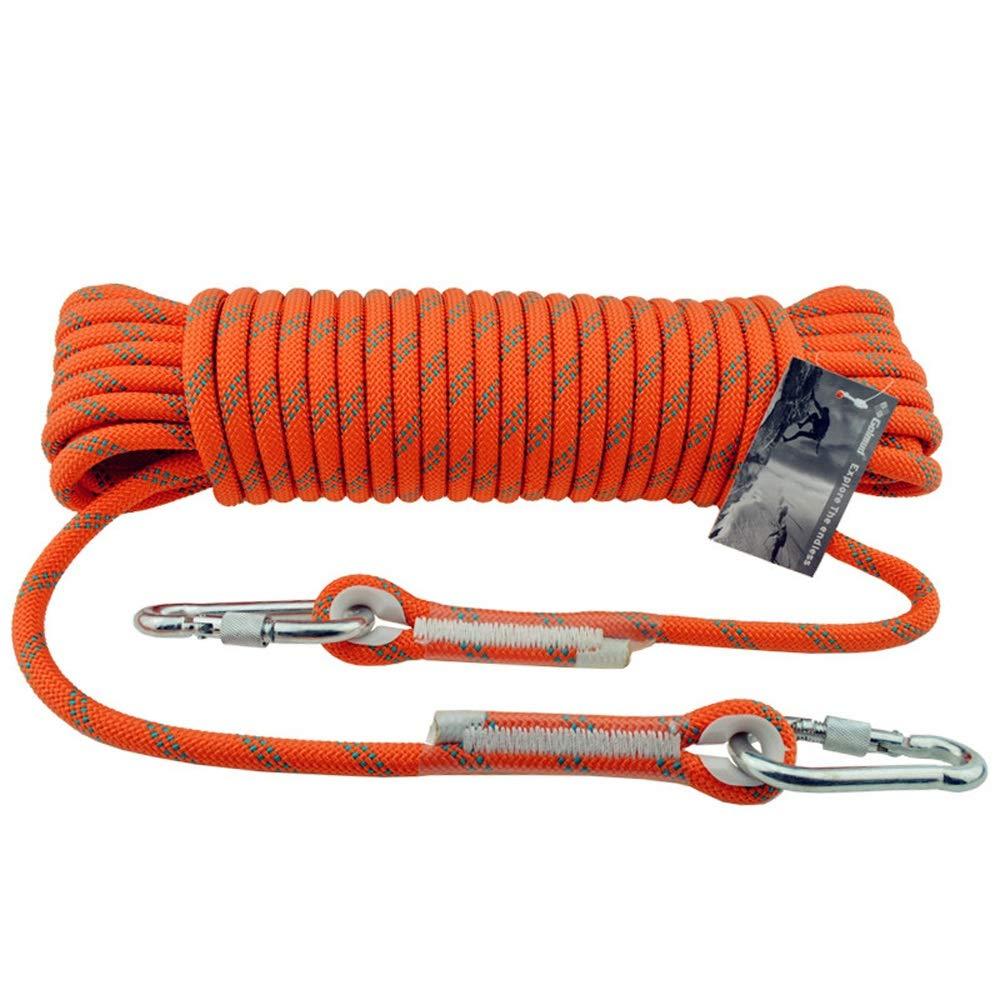RKY Corde de flottaison flottante de sports de corde extérieure d'alpinisme de sports Corde de sécurité prougeectrice extérieure 12mm, 16 tailles Corde de sécurité (Taille   15M) 70M