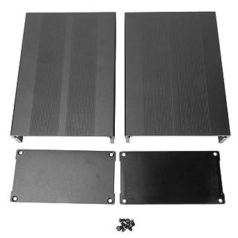 Caja de enfriamiento de aluminio, caja de aluminio de 50x106x150 ...