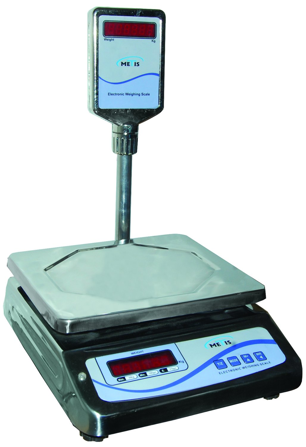 Metis Electronic Weighing Scale, capacity 30 kg: Amazon.in ...
