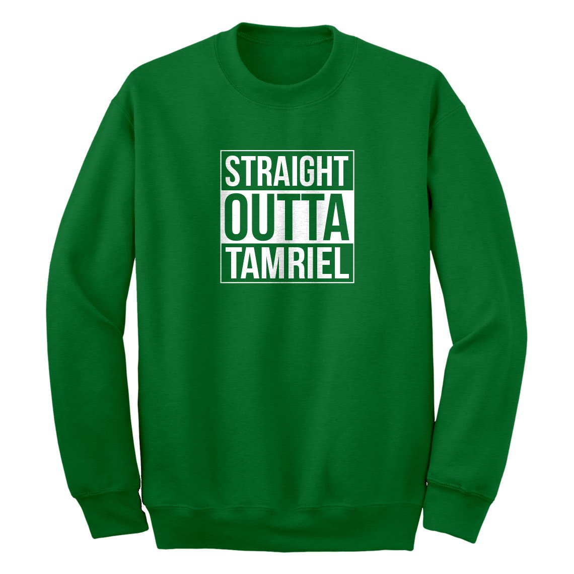 Indica Plateau Straight Outta Tamriel Unisex Adult Sweatshirt 3703-C
