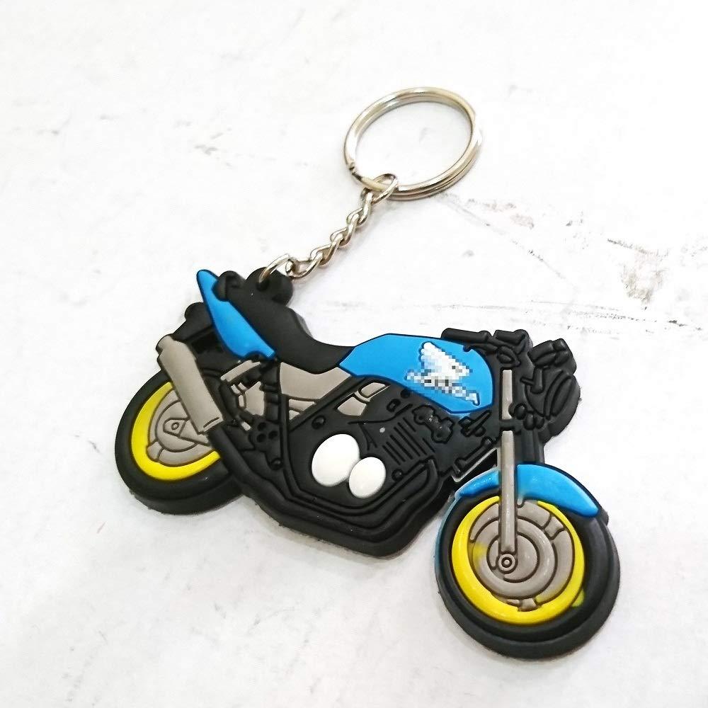 Automotive Soft Rubber Keyring Keychain Keytag For Aftermarket Universal Car Motorcycle Bike Accessories For Example Super Bike Sport Bike Street Bike honda CBR RR CB Cb 400 600 1100 1000r Enthusiasts aegarage198619861304