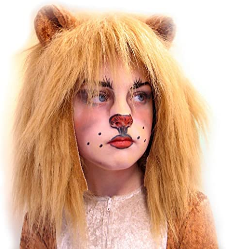 NET TOYS Original Gorro de león para niño - Marrón - Encantador ...