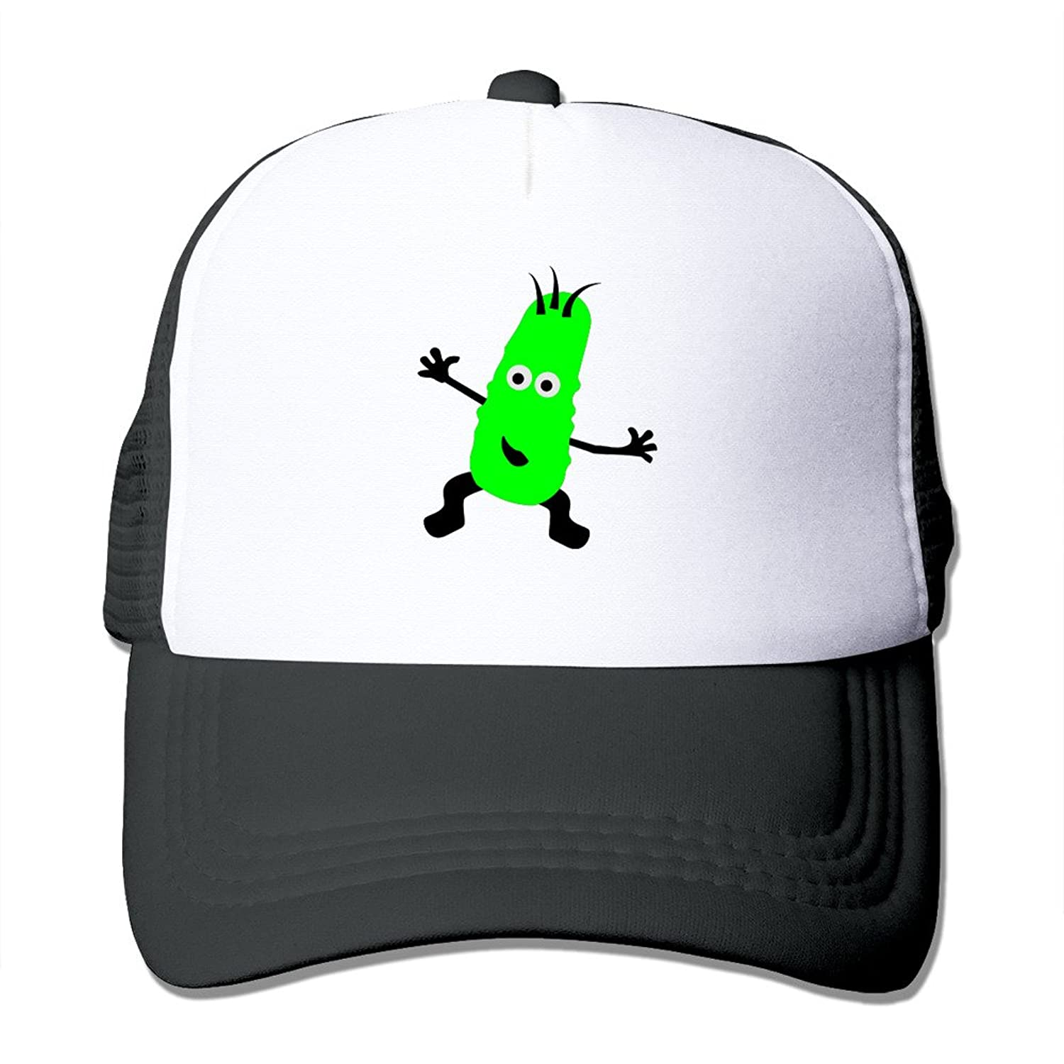 Adult Unisex Pickles 100% Nylon Mesh Caps One Size Fits Most Dancing Hat Adjustable