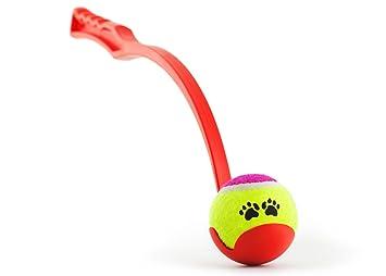 Lanzador y pelota de tenis | Honda de la pelota para perros ...