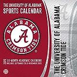 The University of Alabama Crimson Tide 2020 Calendar