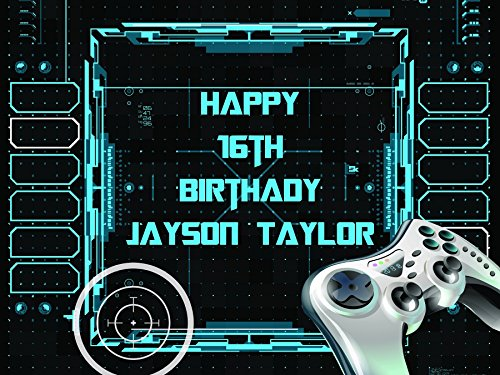 custom-home-decor-video-game-happy-birthday-party-poster-size-36x24-48x24-48x36-personalized-target-