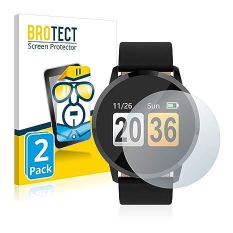 BROTECT Protector Pantalla Compatible con Gokoo Fitness Tracker Q8 ...
