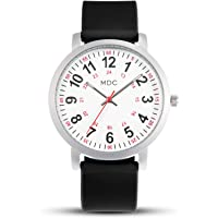 Nursing Watches for Nurses Medical Watch with Second Hand Womens Waterproof Wrist Watches for Women 24 Hour Analog…