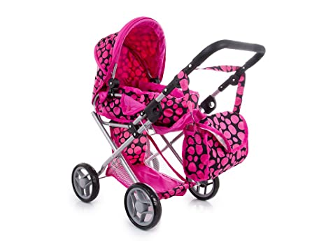 Kinderplay TOY DOLL PRAM SILLA BUGGY COT BOLSA CARRIOLA KP0200F