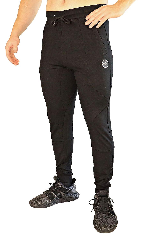 Athletic Fitted FLEX-N-FLEX Mens Jogger Sweatpants