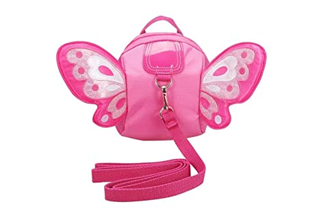 Baby Toddler Walking Wing Belt Safety Harness Strap Butterfly Backpack Reins Bag