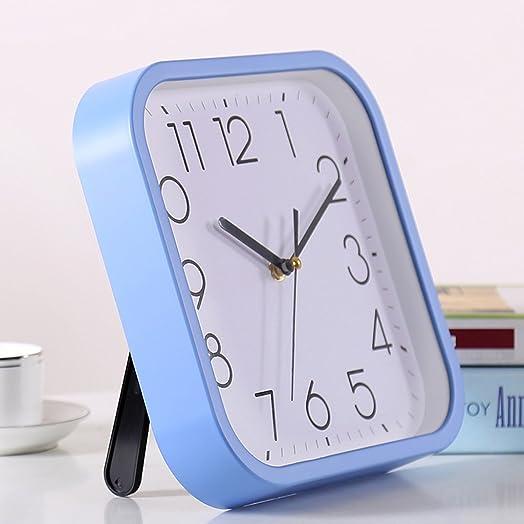 TIANTA-wall clock 10 inch silent plastic wall clocks simple bedroom cute clock Color   Orange