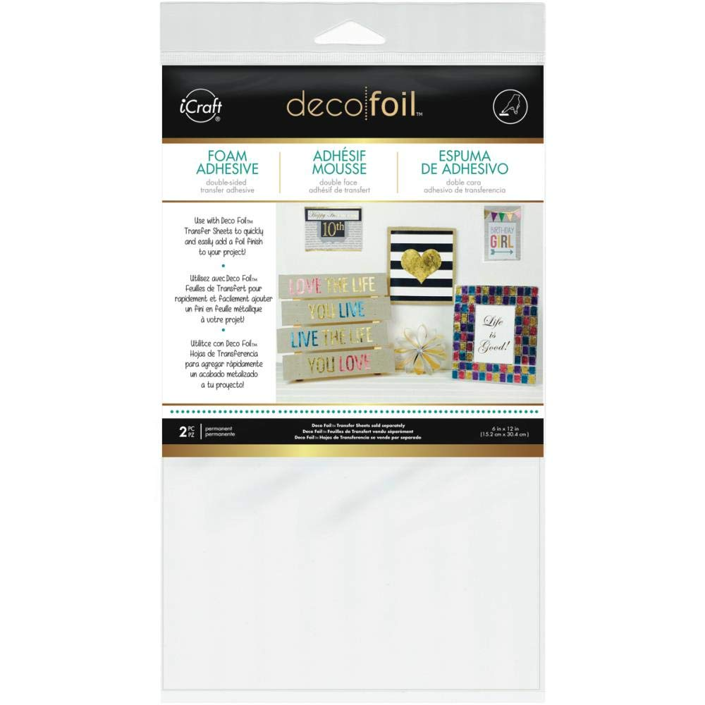Amazon.com: Deco Foil - Flock Transfer Sheets and Foam Adhesive Bundle - Cool Tones - Green, Blue, Purple and Black Flock - 5 Items: Arts, Crafts & Sewing